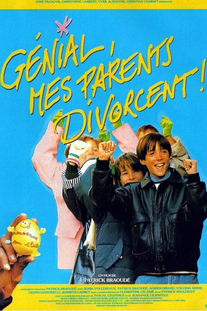 affiche du film Génial, mes parents divorcent !