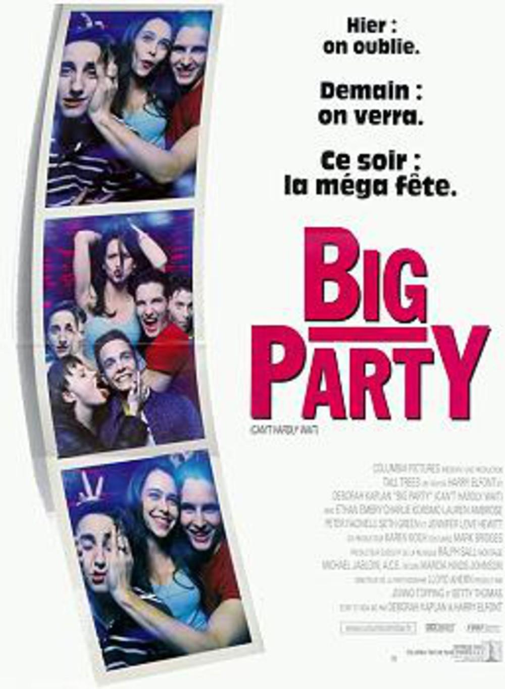 affiche du film Big Party