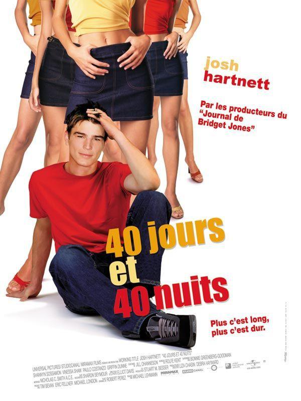 affiche du film 40 jours et 40 nuits