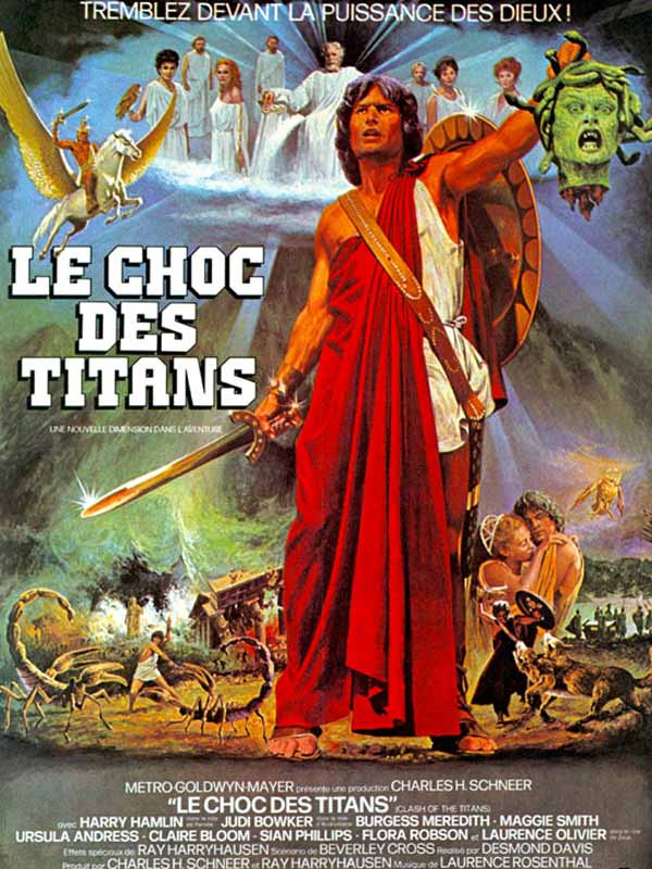 affiche du film Le choc des Titans