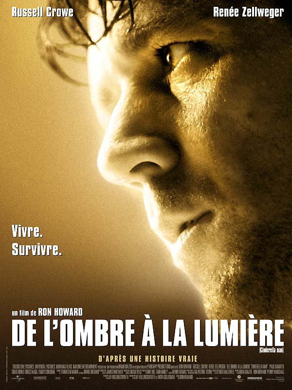 affiche du film De l'ombre à la lumière