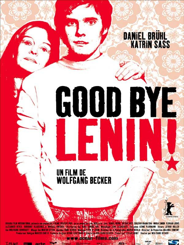 affiche du film Good Bye, Lenin!