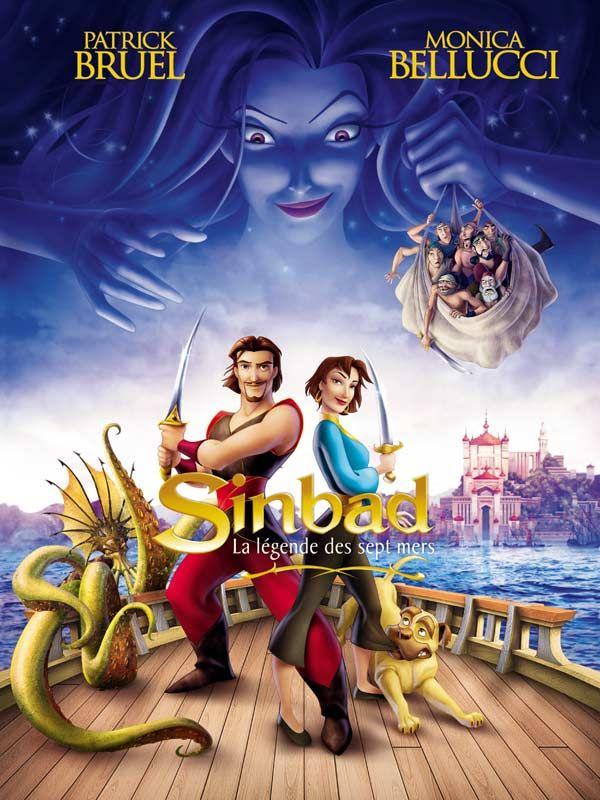 affiche du film Sinbad : La légende des sept mers