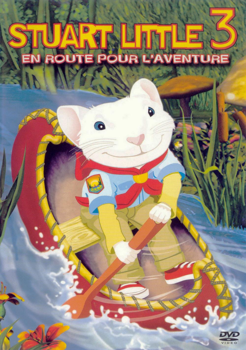 affiche du film Stuart Little 3 : L'appel de la forêt