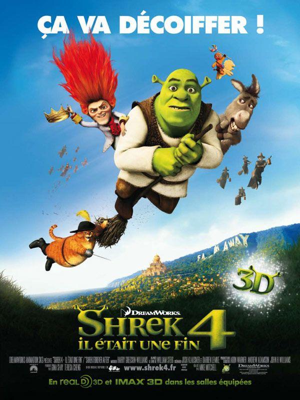 affiche du film Shrek 4, il était une fin
