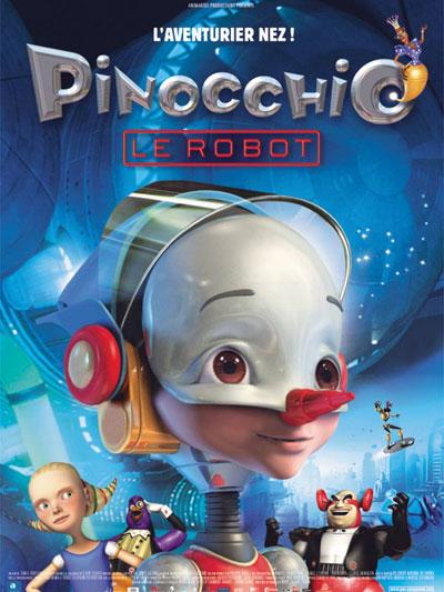 affiche du film Pinocchio le robot