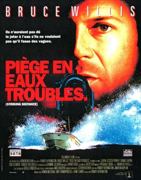 affiche du film Piège en eaux troubles