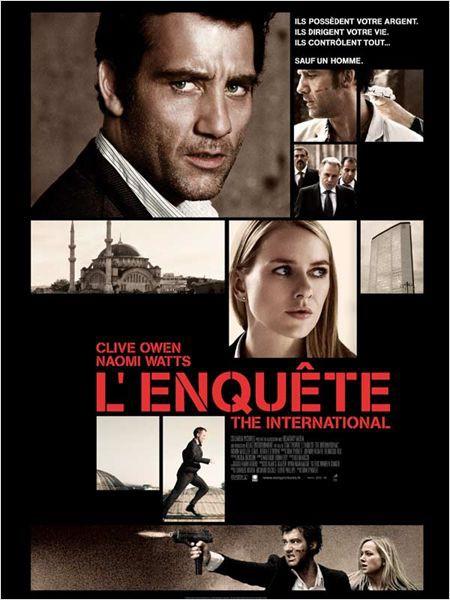 affiche du film L'enquête: The international