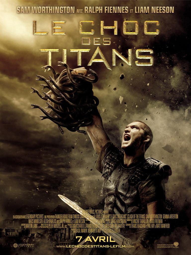 affiche du film Le choc des Titans (2010)