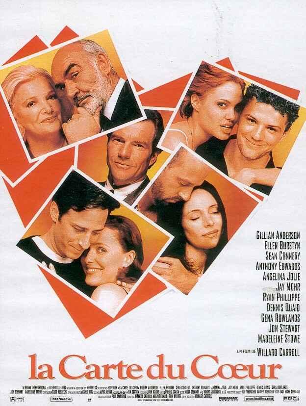 affiche du film La carte du cœur