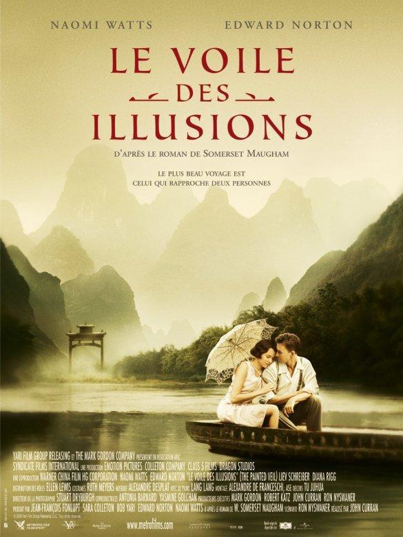 affiche du film Le voile des illusions