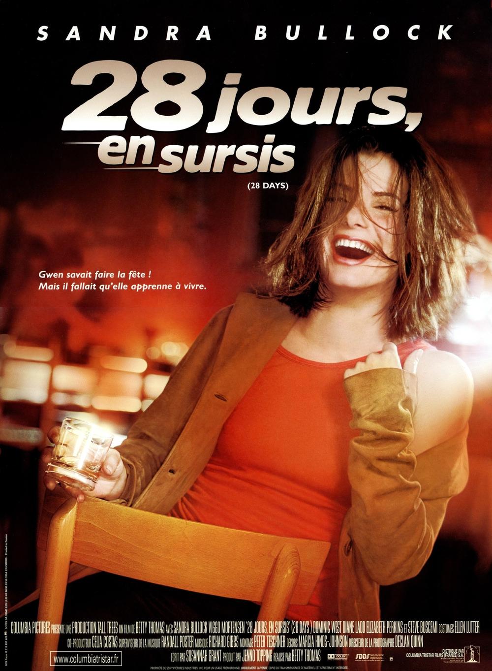 affiche du film 28 jours en sursis