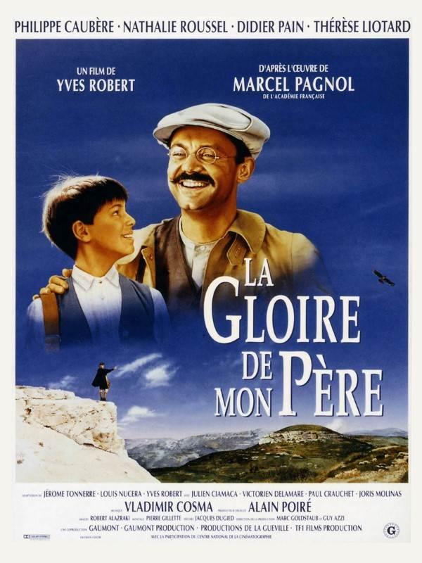 affiche du film La gloire de mon père