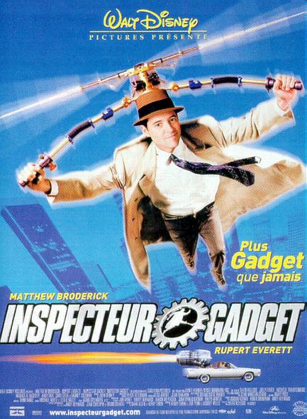 affiche du film Inspecteur Gadget
