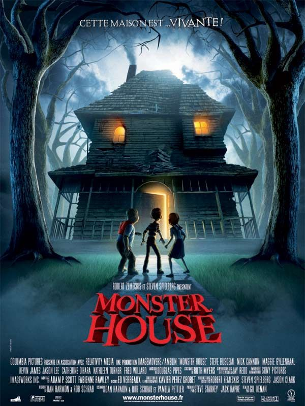 affiche du film Monster House