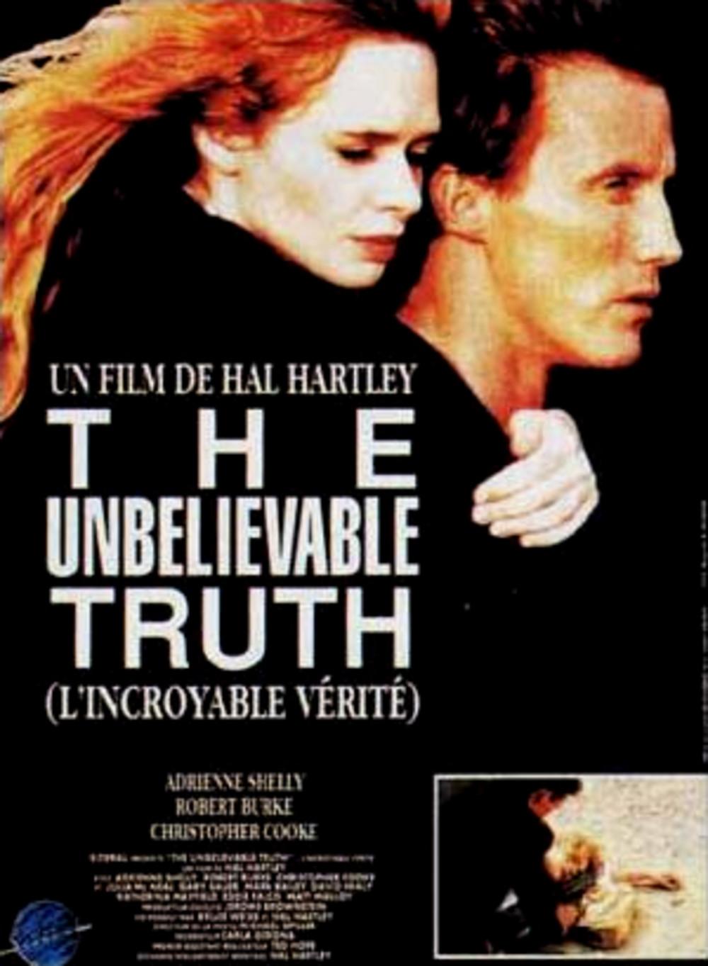 affiche du film L'incroyable vérité