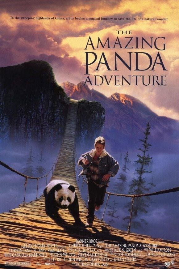 affiche du film Au secours petit panda