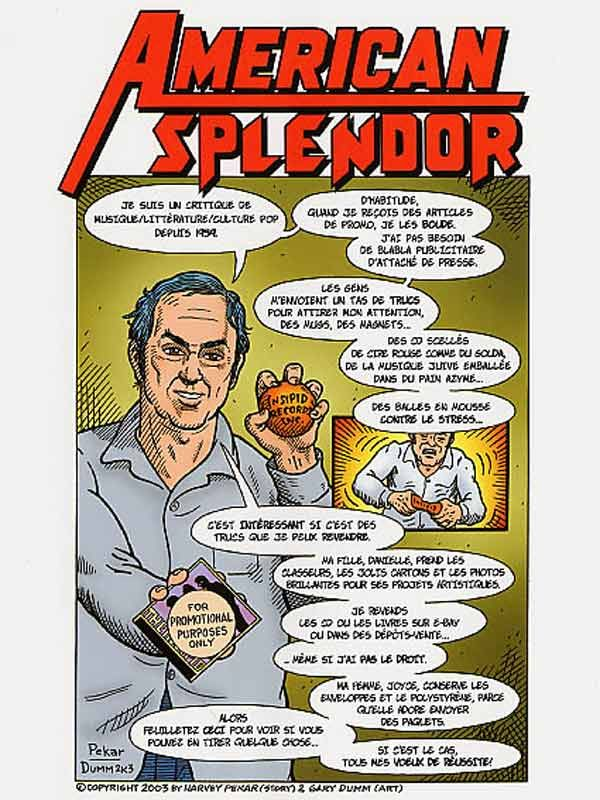 affiche du film American Splendor