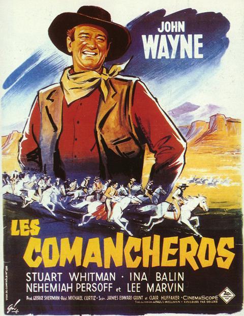 affiche du film Les comancheros