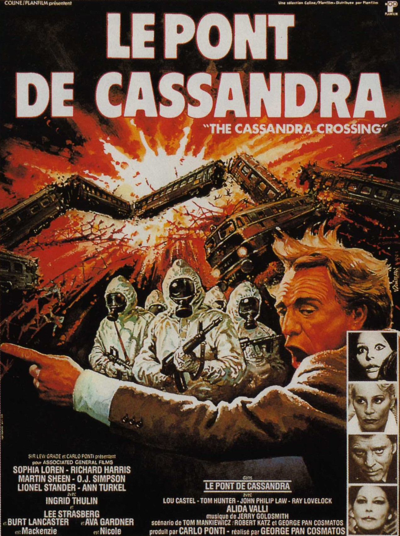 affiche du film Le pont de Cassandra