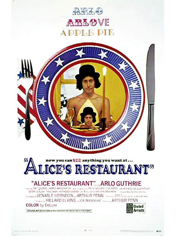 affiche du film Alice's Restaurant