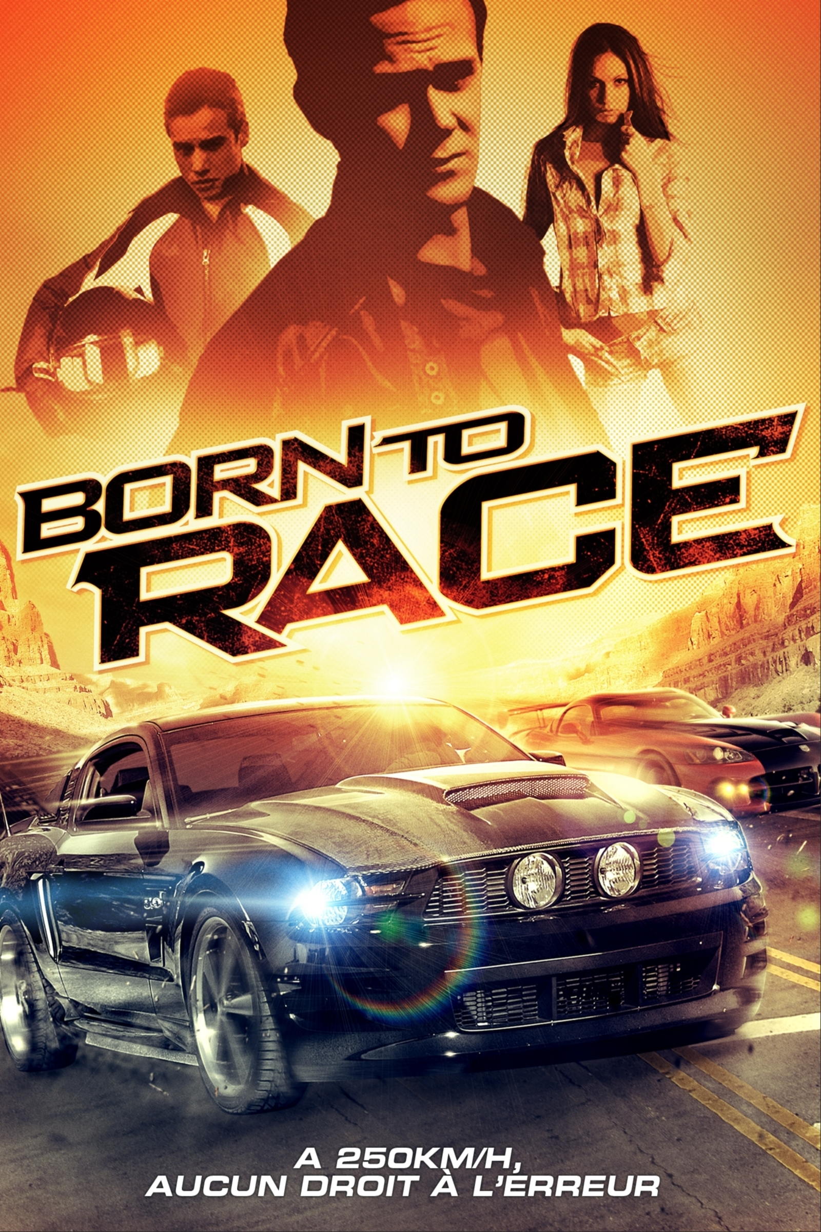 affiche du film Born to Race