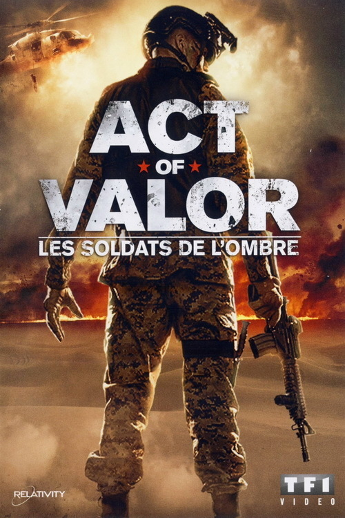 affiche du film Act of Valor : Les soldats de l'ombre