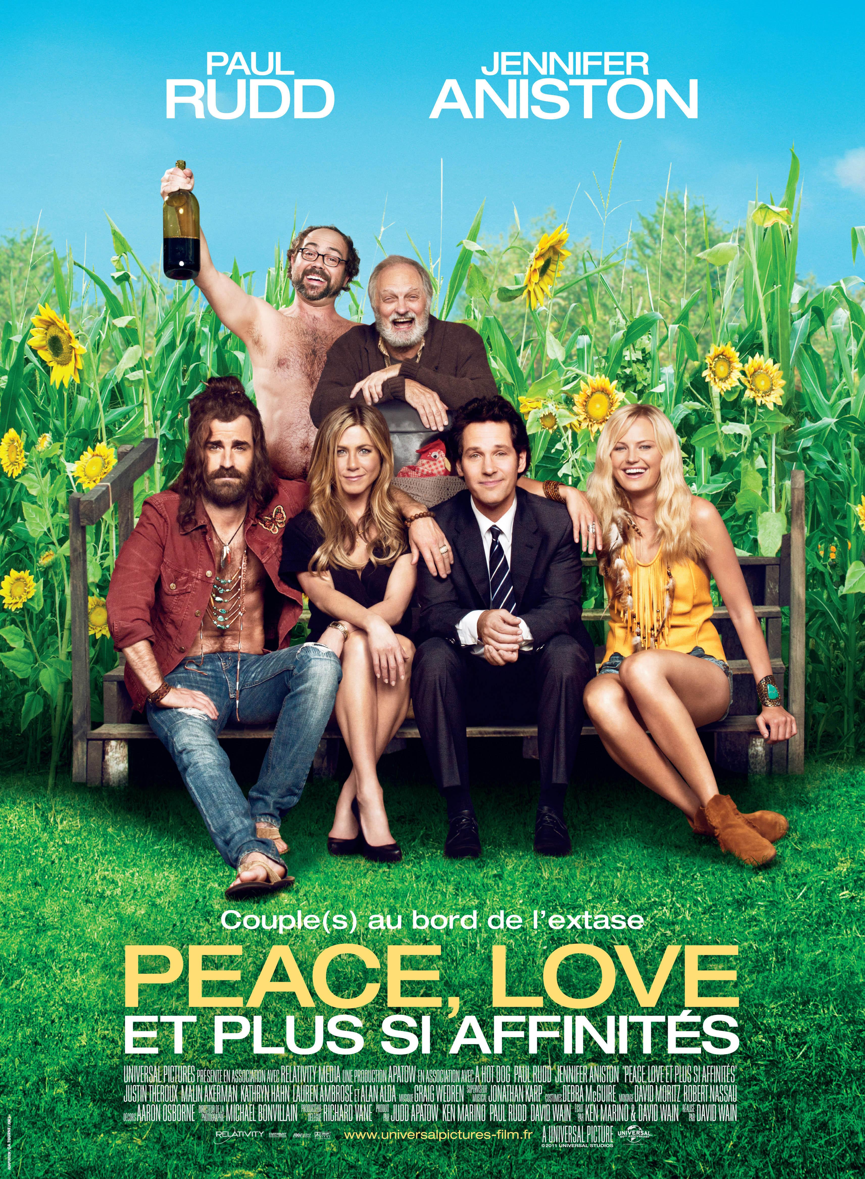 affiche du film Peace, Love et plus si affinités