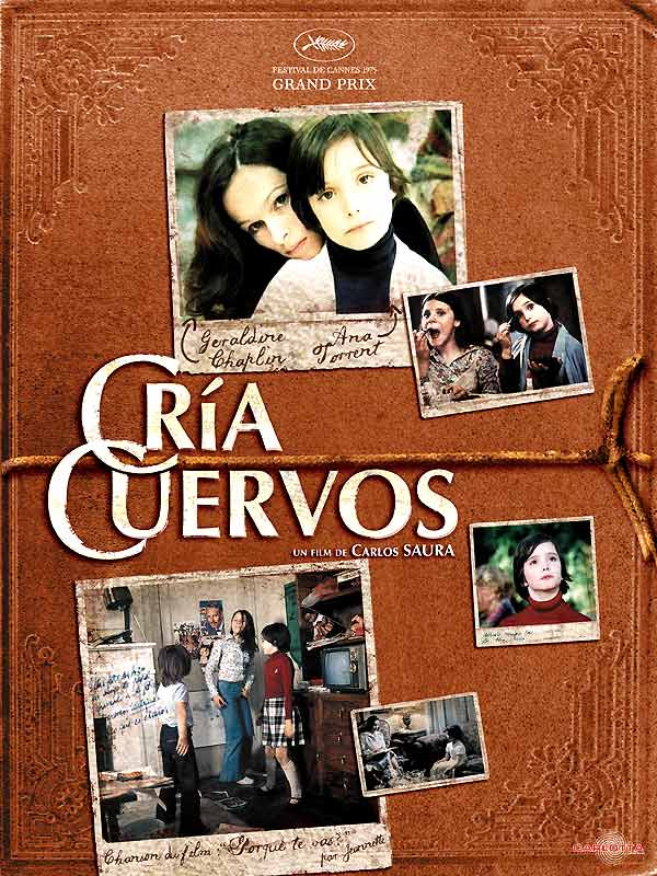 affiche du film Cría cuervos