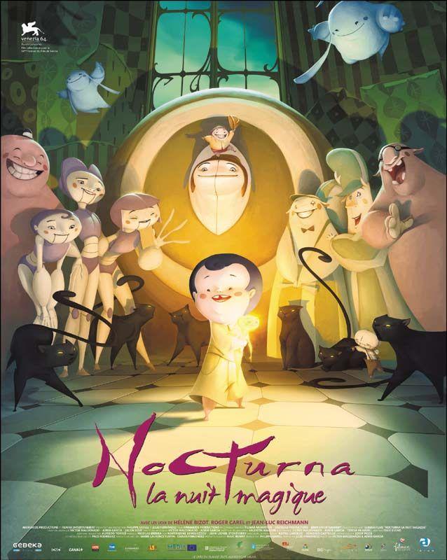 affiche du film Nocturna, la nuit magique