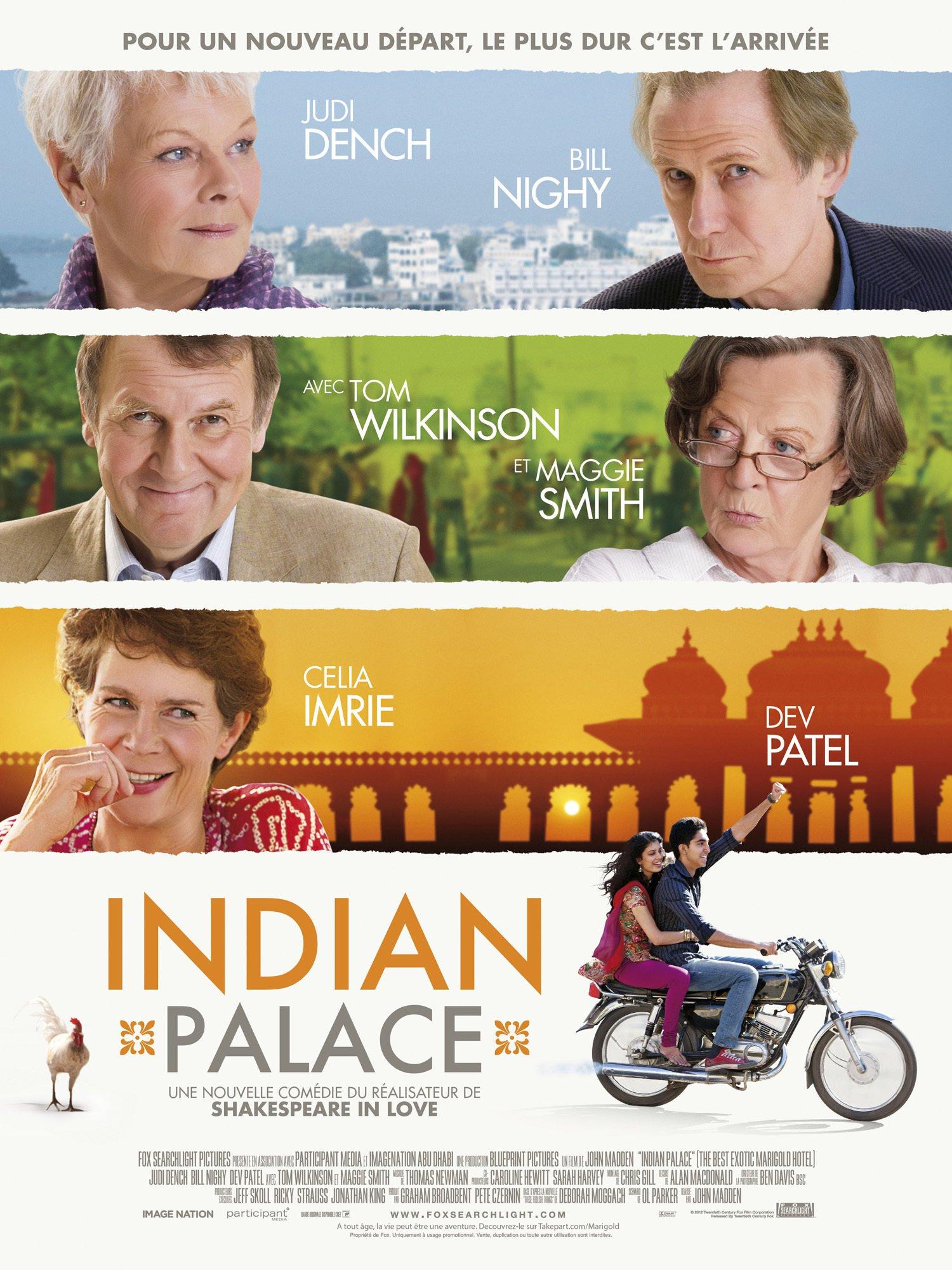 affiche du film Indian Palace