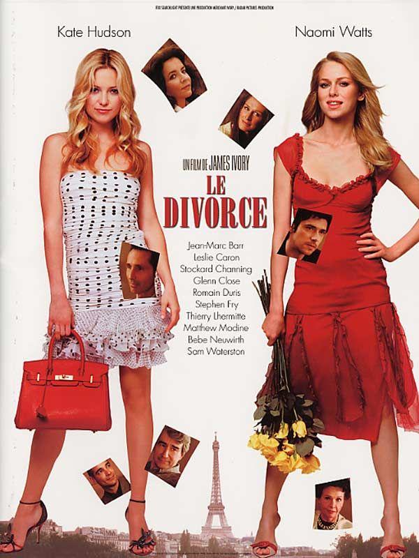 affiche du film Le divorce