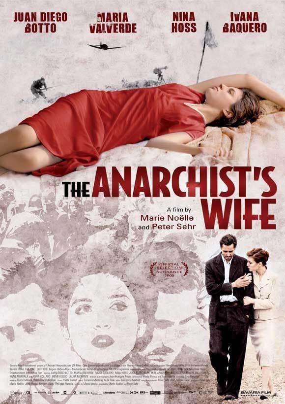 affiche du film La femme de l'anarchiste