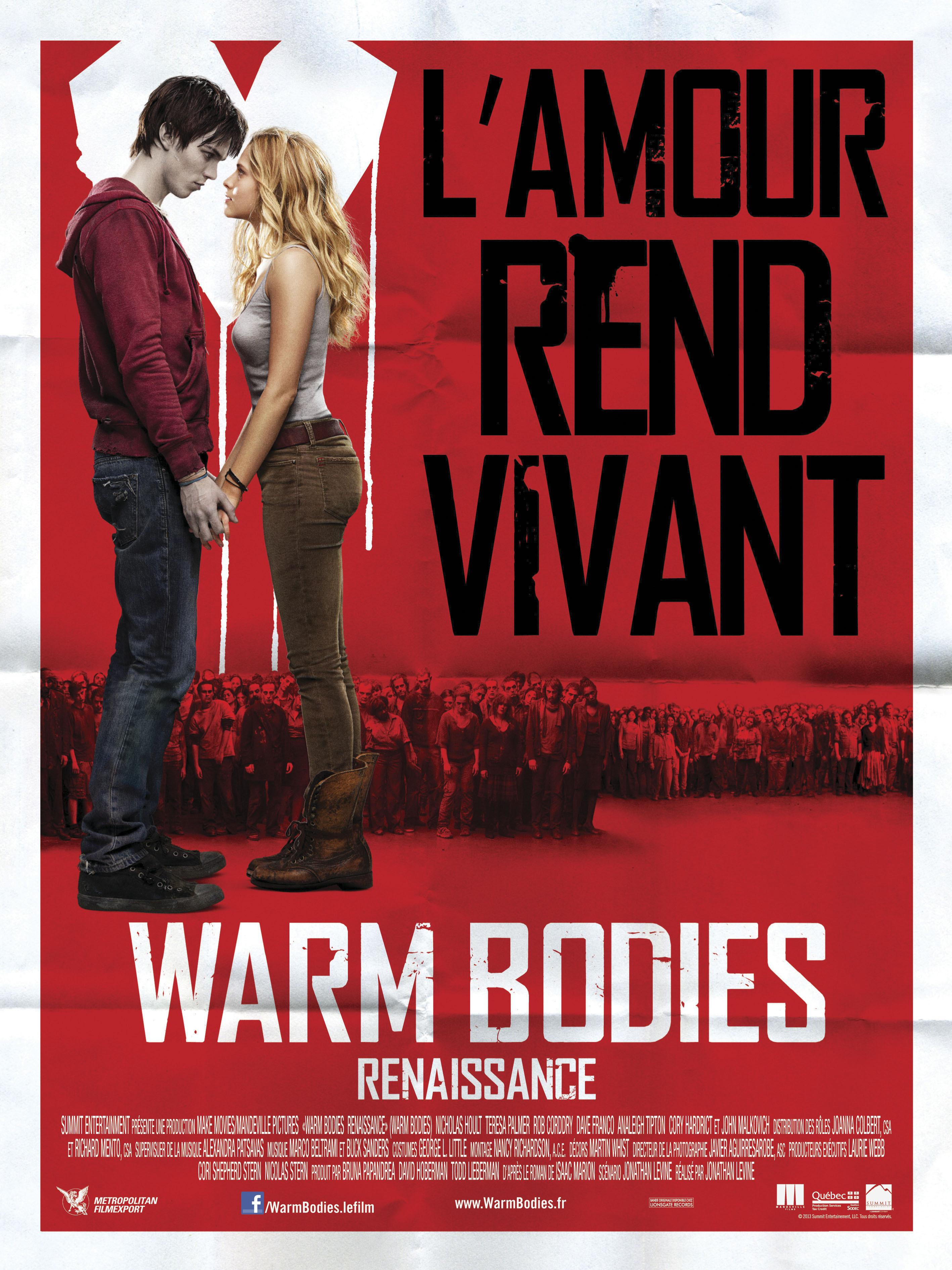 affiche du film Warm Bodies