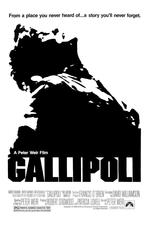 affiche du film Gallipoli
