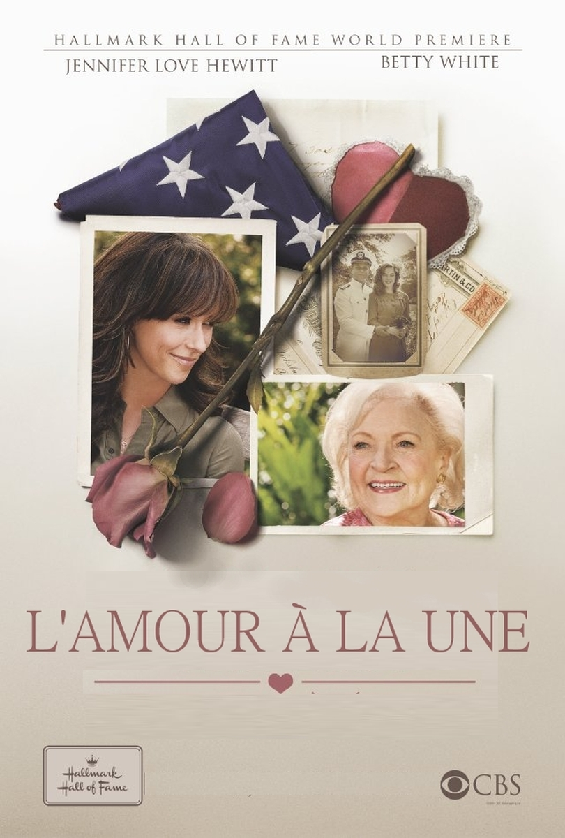 affiche du film L'amour à la une (TV)