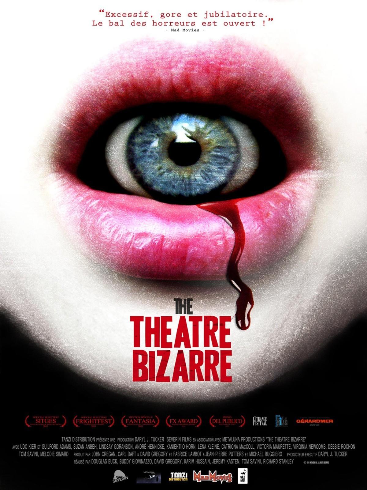 affiche du film The Theatre Bizarre