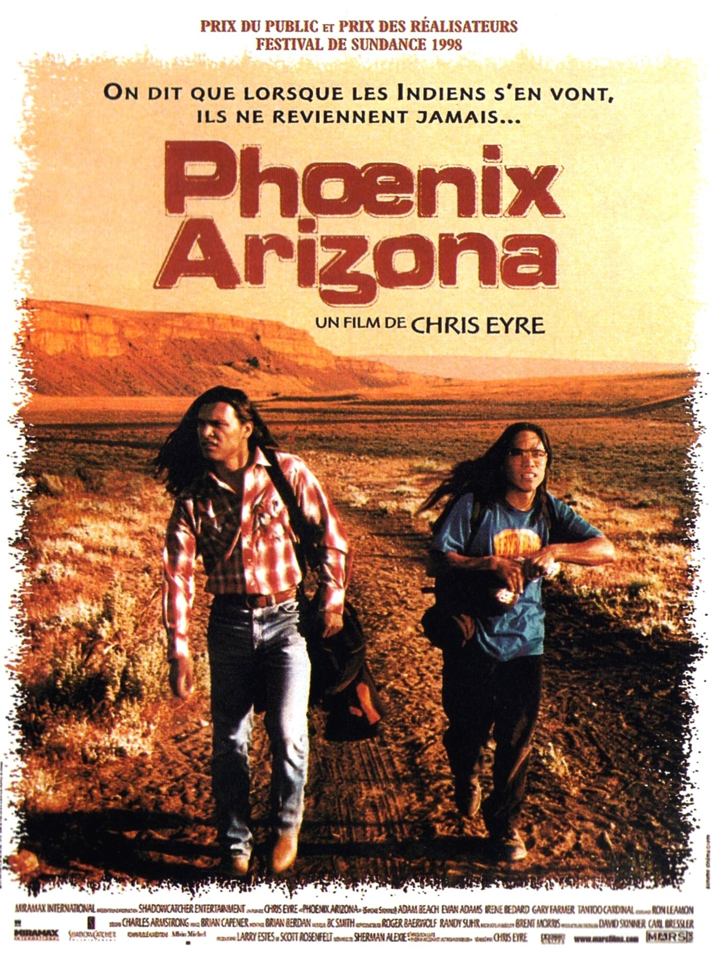 affiche du film Phoenix Arizona