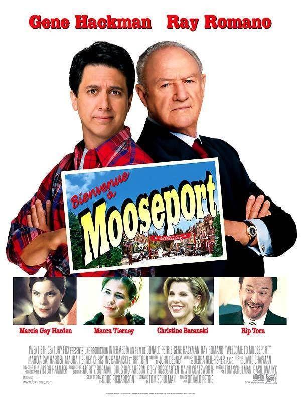 affiche du film Bienvenue à Mooseport