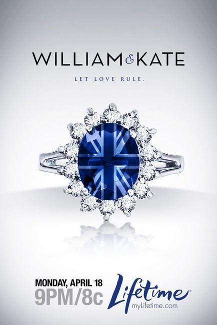 affiche du film Kate & William : Quand tout a commencé... (TV)
