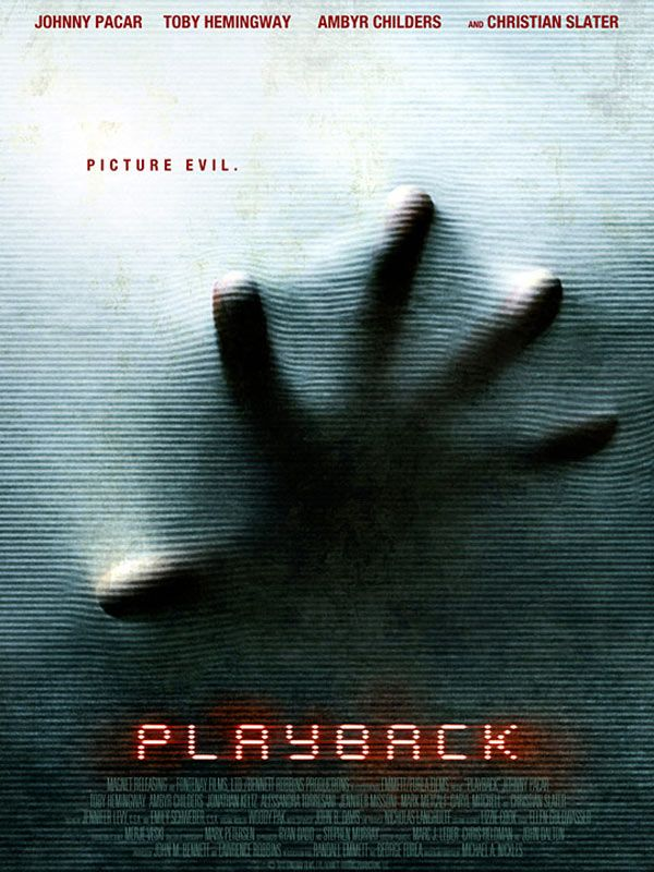 affiche du film Playback