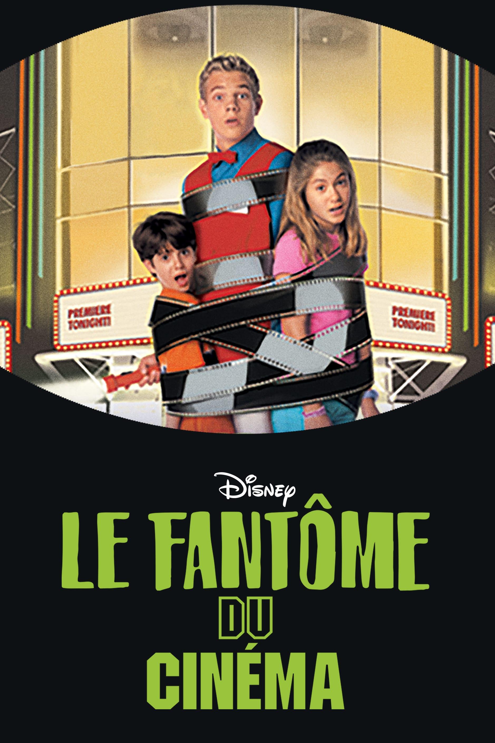 affiche du film Le fantôme du cinéma (TV)
