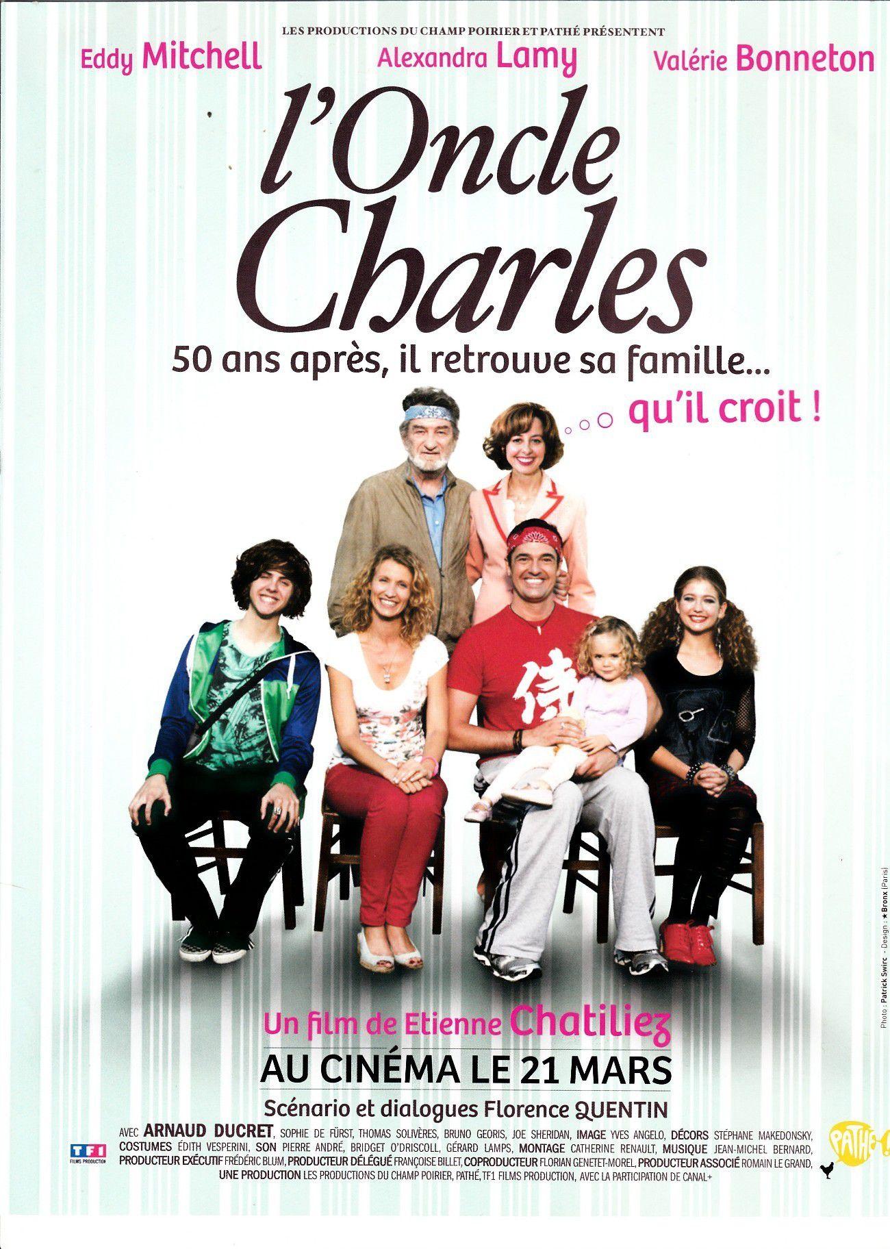 affiche du film L'oncle Charles