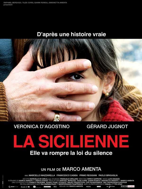 affiche du film La Sicilienne