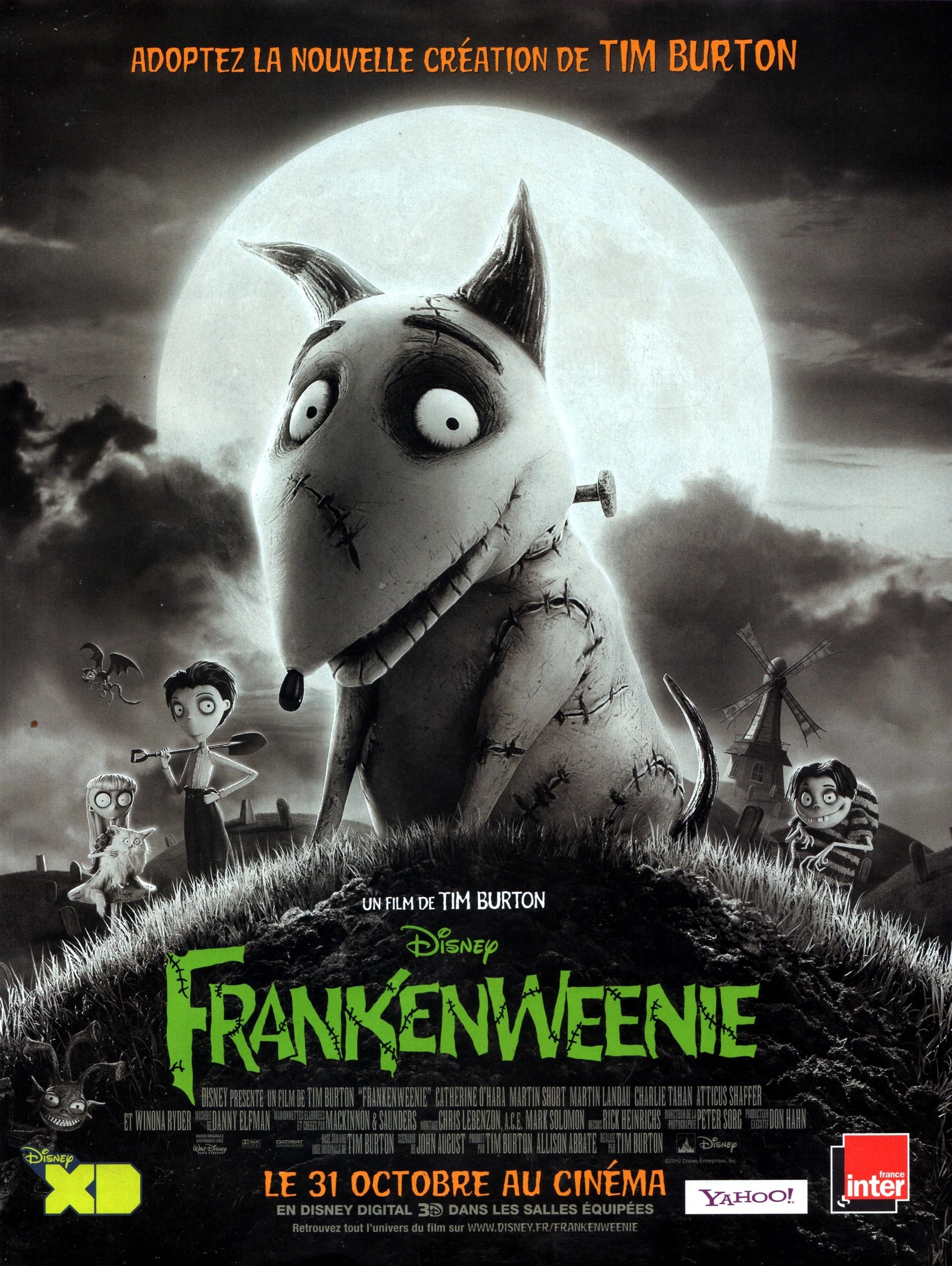 affiche du film Frankenweenie (2012)