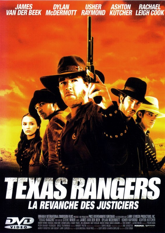 affiche du film Texas Rangers : La Revanche des Justiciers