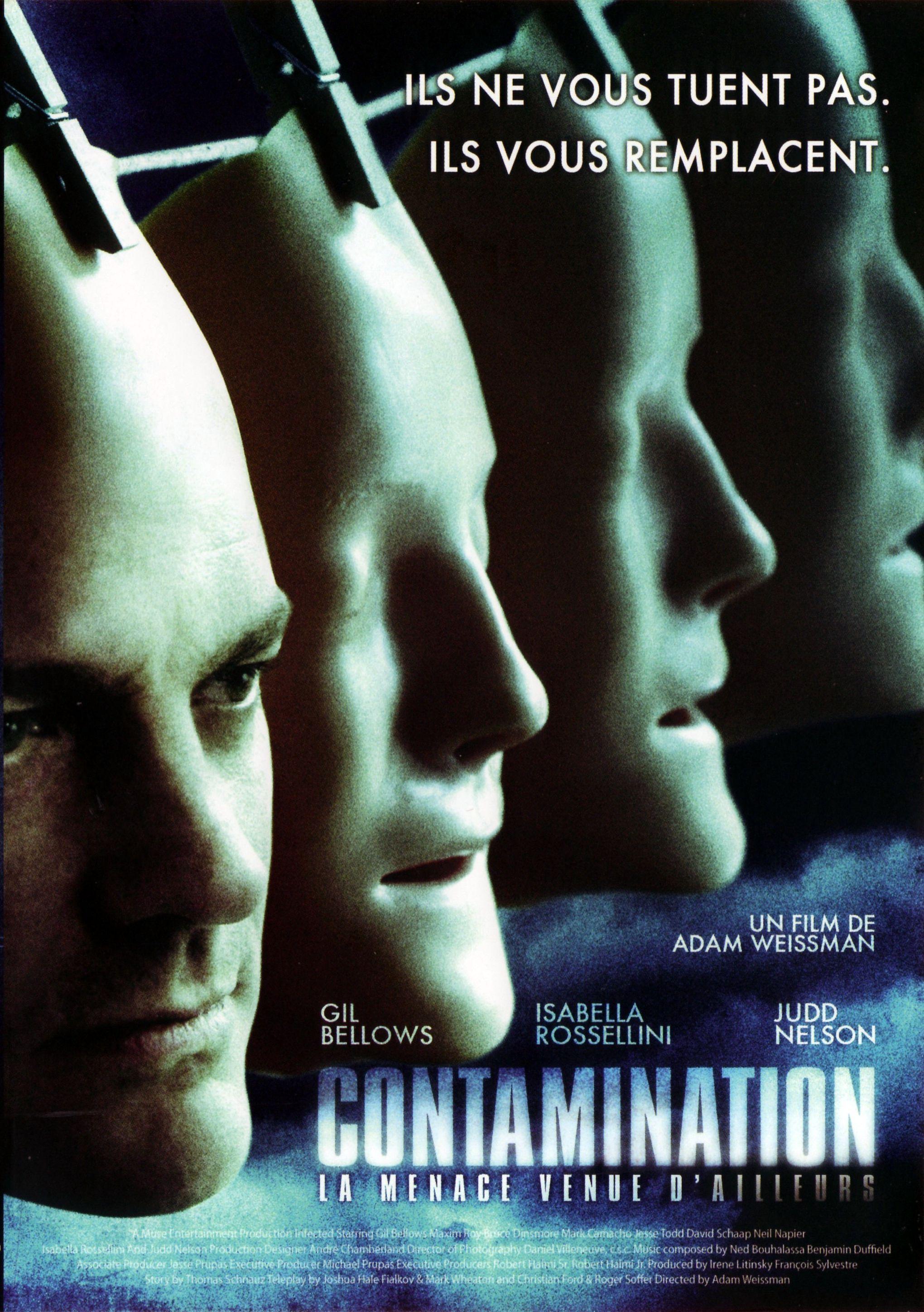 affiche du film Contamination: la menace venue d'ailleurs