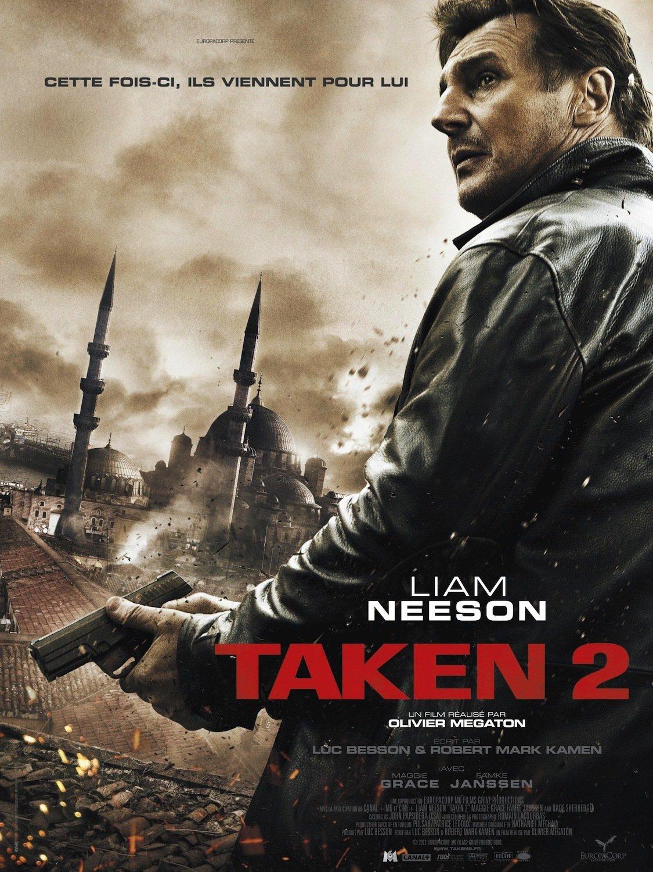 affiche du film Taken 2