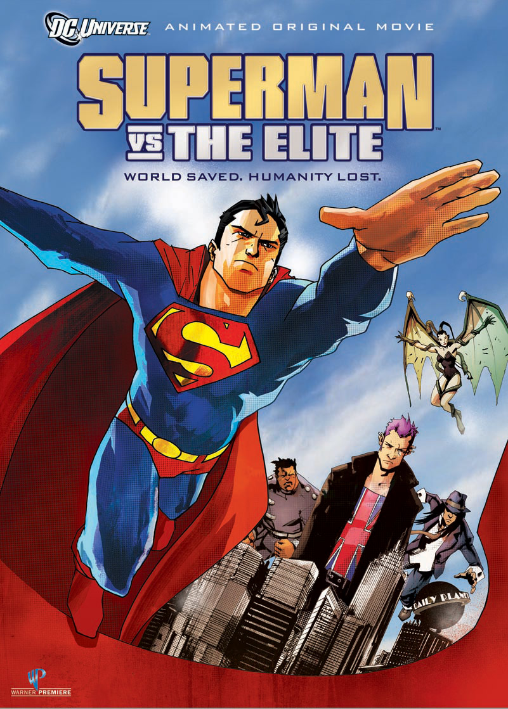 affiche du film Superman vs The Elite