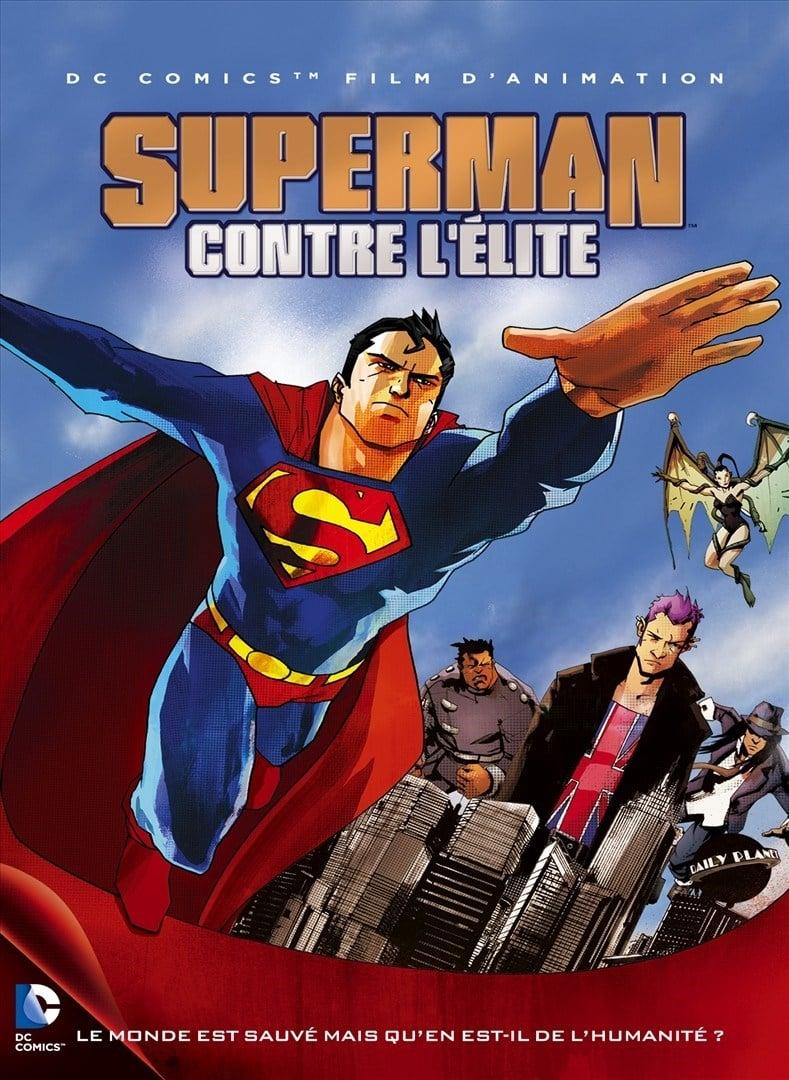 affiche du film Superman contre l'élite